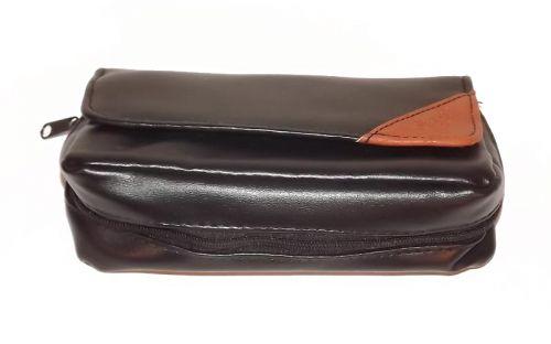 Pipatáska 1 pipa részére - fekete, Angelo (17x10cm)