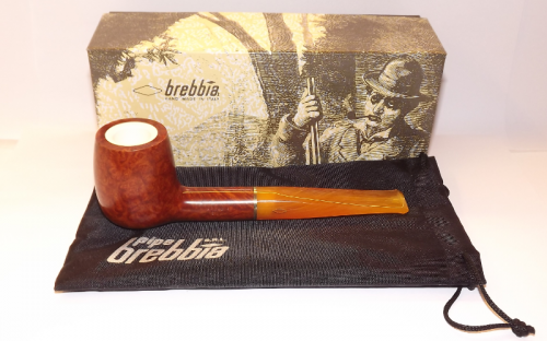 Brebbia pipa Sun 1001 Meershaum Billiard