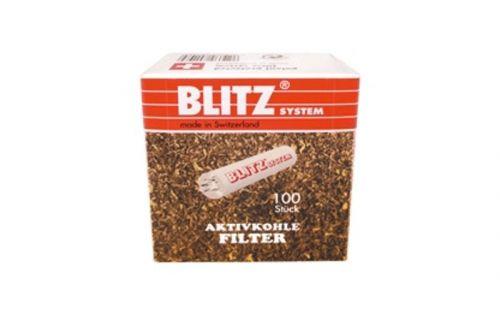 Pipafilter aktivszenes (9mm) - 100db Blitz