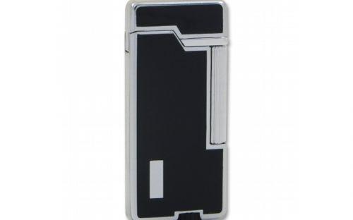 EuroJet Gentle szivaröngyújtó - fekete/ezüst