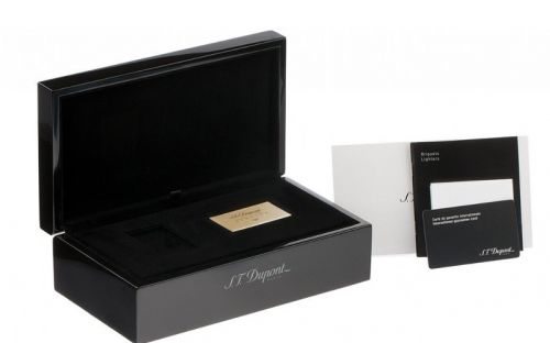 Luxus Szivaröngyújtó - sötétkék/arany, S.T. Dupont L2 Atelier