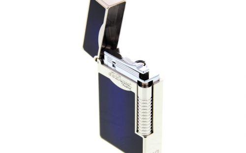 Luxus Szivaröngyújtó - sötétkék/ezüst, S.T. Dupont L2 LE Grande