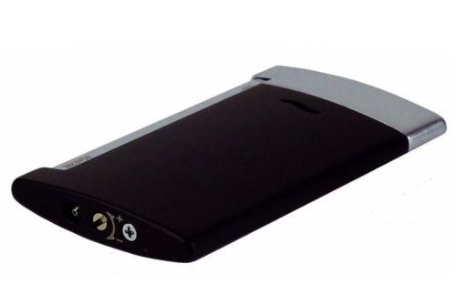 Luxus Szivaröngyújtó - fekete, S.T. Dupont Slim 7
