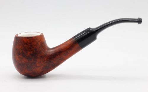Lorenzo pipa 311 Meershaum Brown Matt Bent