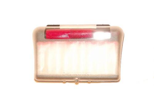 Denicotea piros cigaretta szipka 78mm +10 db szűrő