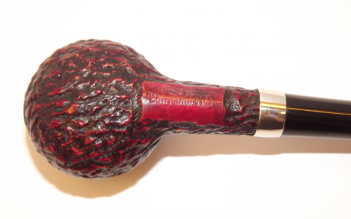 Peterson pipa Churchwarden Rustic Prince