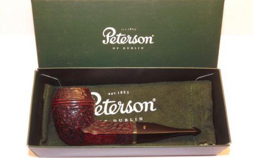 Peterson pipa Kinsale XL13 Rustic P-lip