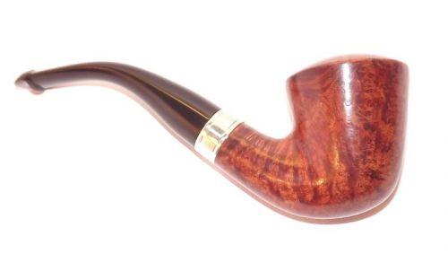 Peterson pipa Flame Grain B10 P-lip Bent Dublin