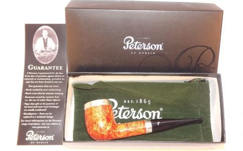 Peterson pipa Silver Cap 106 Natural F-lip