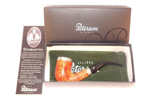 Peterson pipa Silver Cap XL20 Natural F-lip