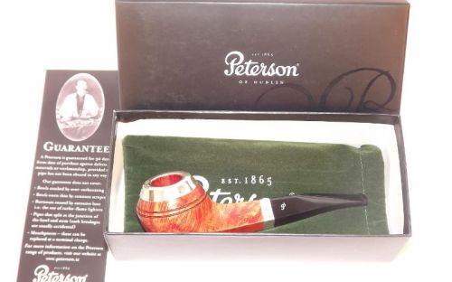 Peterson pipa Silver Cap XL21 Natural F-lip