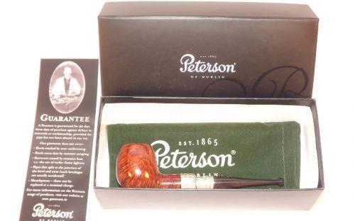 Peterson pipa Spigot Silver 87 Irish F-lip