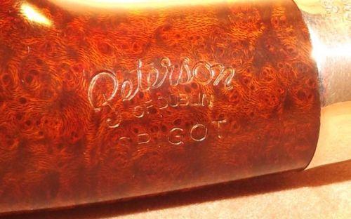 Peterson pipa Spigot Silver XL14 Irish F-lip