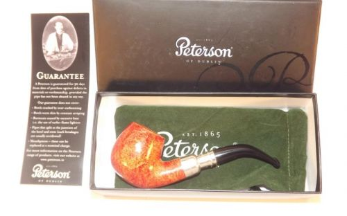 Peterson pipa Spigot Silver 68 Natural F-lip (9 mm)