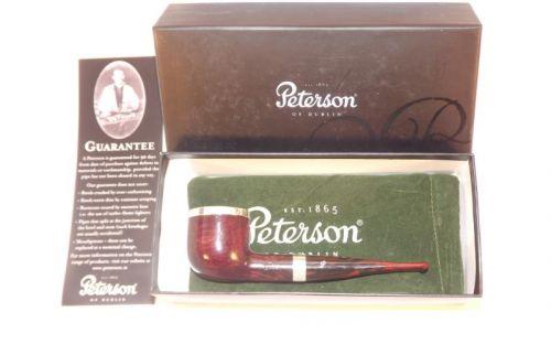 Peterson pipa Silver Cap 606 Dark F-lip