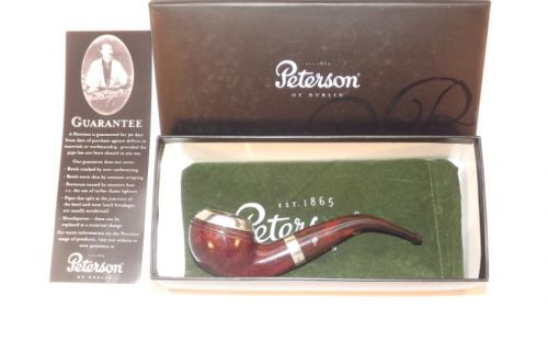 Peterson pipa Silver Cap 999 Dark F-lip