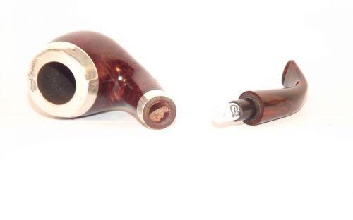 Peterson pipa Silver Cap 68 Dark F-lip