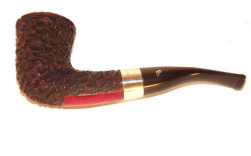 Peterson pipa Sherlock Holmes Mycroft Rustic F-lip Dublin
