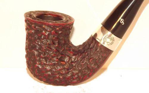 Peterson pipa Sherlock Holmes Original Rustic P-lip Bent Dublin