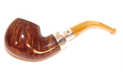 Peterson pipa Spigot Silver XL02 Flame Grain F-lip