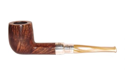 Peterson pipa Flame Grain 106 Army Spigot Silver F-lip Billiard