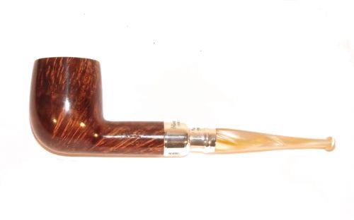 Peterson pipa Spigot Silver 106 Flame Grain F-lip