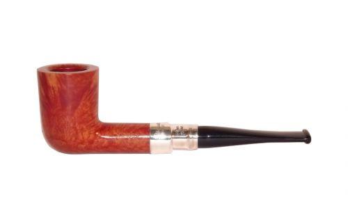 Peterson pipa Spigot Silver 120 Natural F-lip Billiard
