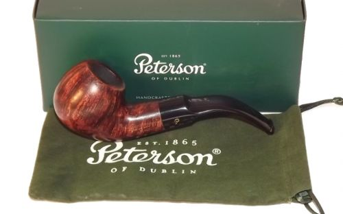 Peterson pipa Aran XL02 F-lip Bent Apple