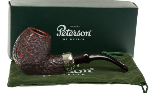 Peterson pipa Standard System B42 Darwin Rustic P-lip