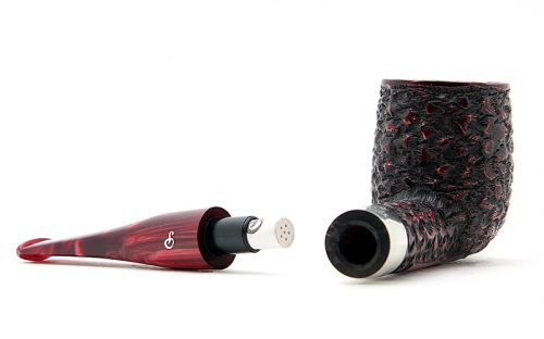 Peterson pipa Christmas pipe 106 Rustic
