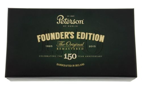 Peterson pipa Founder's Edition 150th Annyversary Sand