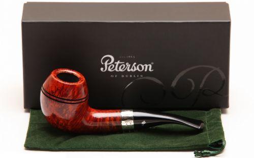 Peterson pipa Sherlock Holmes Deerstalker Smooth F-lip