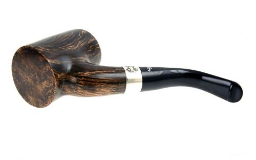 Peterson pipa Sherlock Holmes Hopkins Black and White P-lip