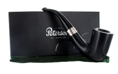 Peterson pipa Sherlock Holmes Rathbone Ebony P-lip