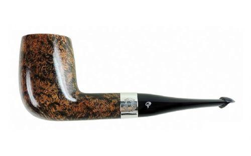 Peterson pipa Sherlock Holmes Sylvius Black and White P-lip
