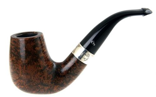 Peterson pipa Sherlock Holmes Gregson Black and White P-lip (9 mm)