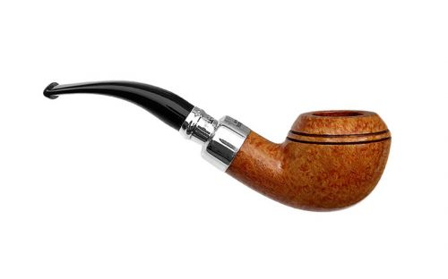 Peterson pipa Spigot Silver 999 Natural F-lip