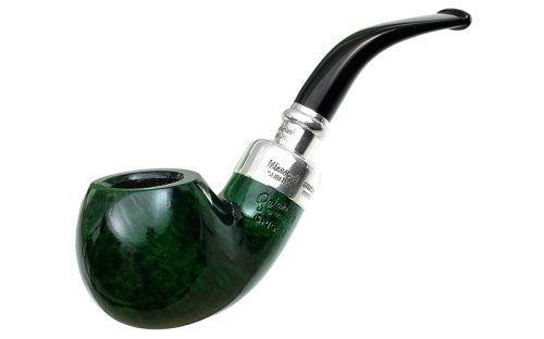Peterson pipa Spigot Silver XL02 Green F-lip