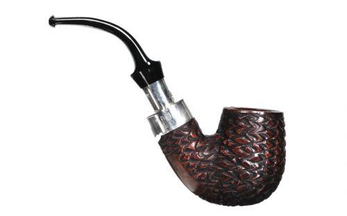 Peterson pipa Spigot Silver X220 Rustic