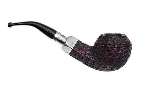 Peterson pipa Spigot Silver XL15 Rustic F-lip