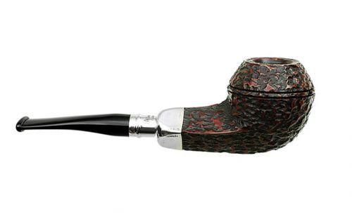 Peterson pipa Spigot Silver XL21 Rustic F-lip
