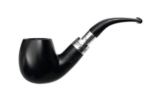 Peterson pipa Spigot Silver 68 Ebony F-lip