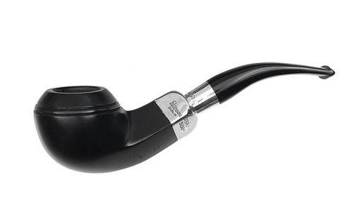 Peterson pipa Spigot Silver 80S Ebony F-lip