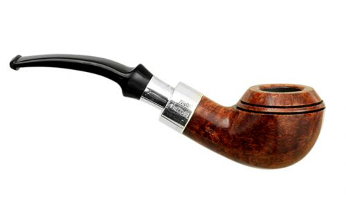 Peterson pipa Spigot Silver 999 Walnut F-lip