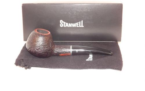 Stanwell pipa Relief 109 Black Sand