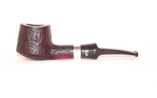 Stanwell pipa Sterling 118 Black Sand