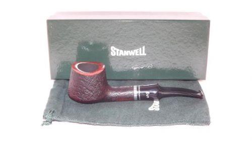 Stanwell pipa Trio 118 Black Sand