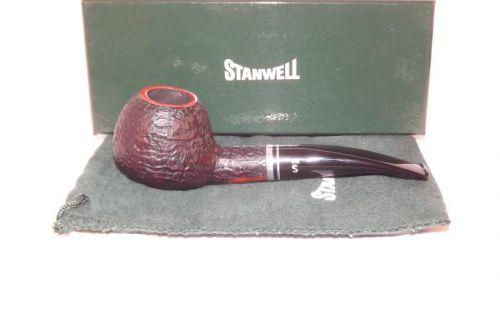 Stanwell pipa Trio 109 Black Sand