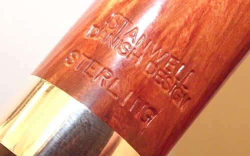 Stanwell pipa Sterling 233 Brown Polish