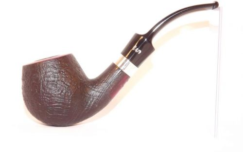 Stanwell pipa Sterling 84 Black Sand
